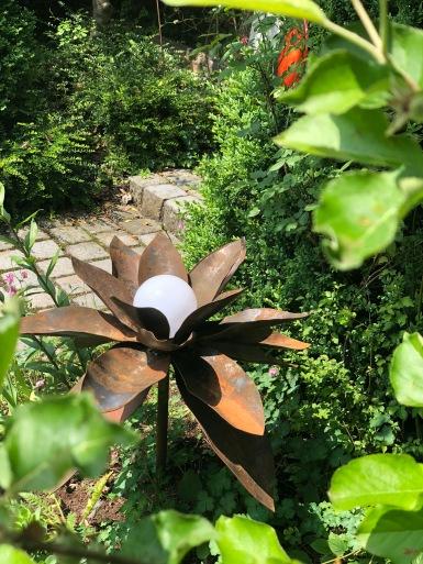 Gartenschmuck aus Metall