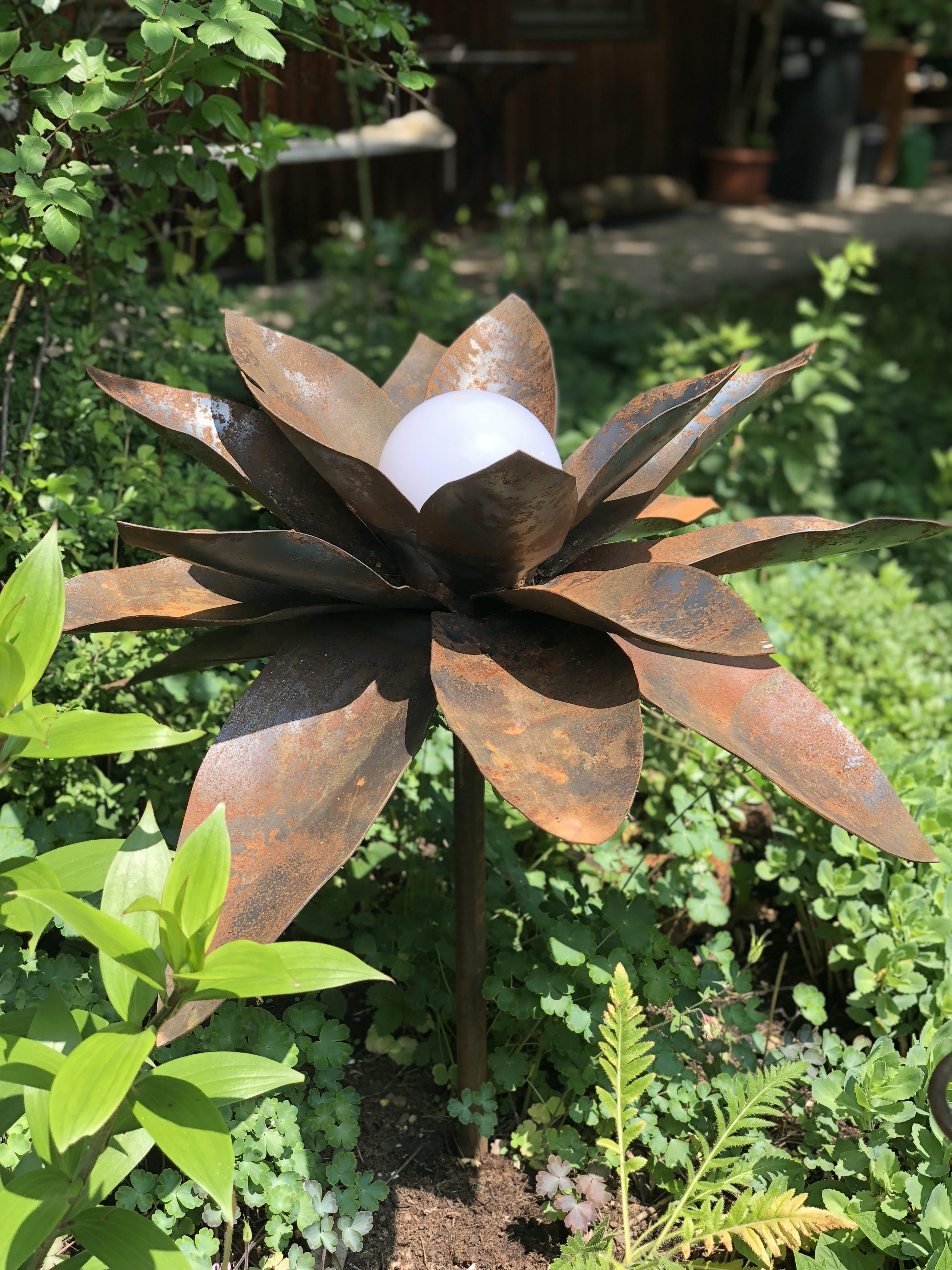Projekte metall gestaltung david wiedemann for Gartenschmuck aus metall